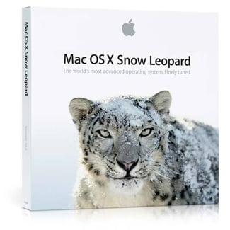 The Mac OS X Snow Leopard Ships on Aug. 28