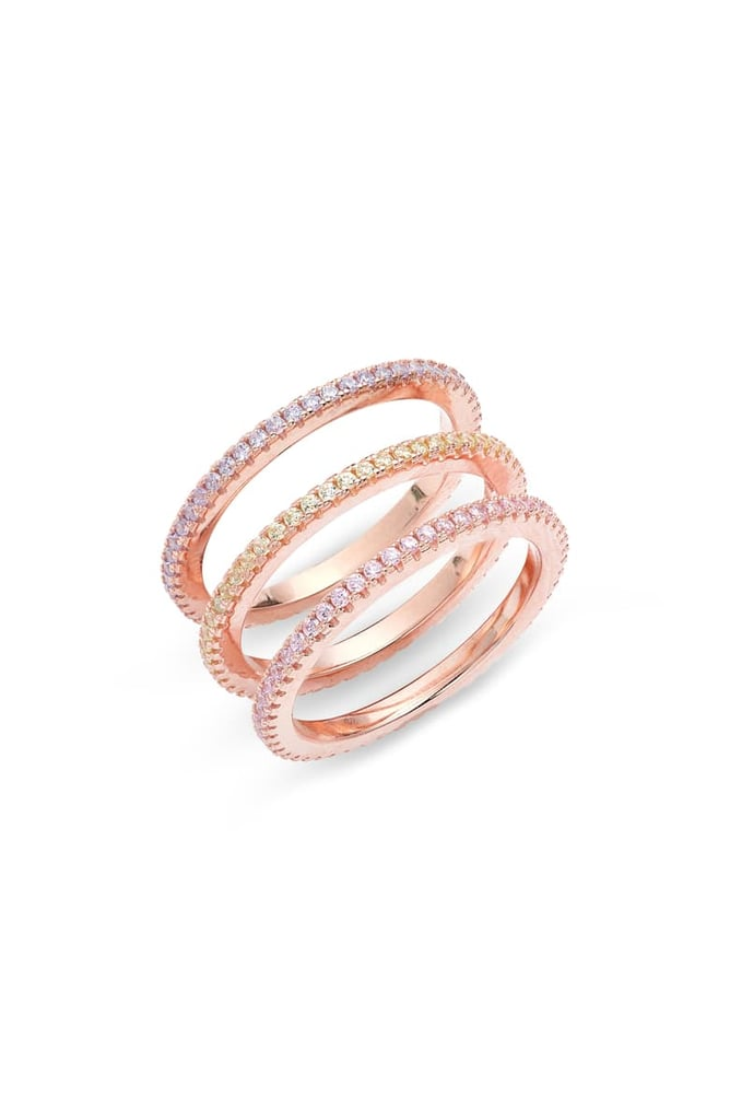 Adina's Jewels Set of 3 Pastel Rings
