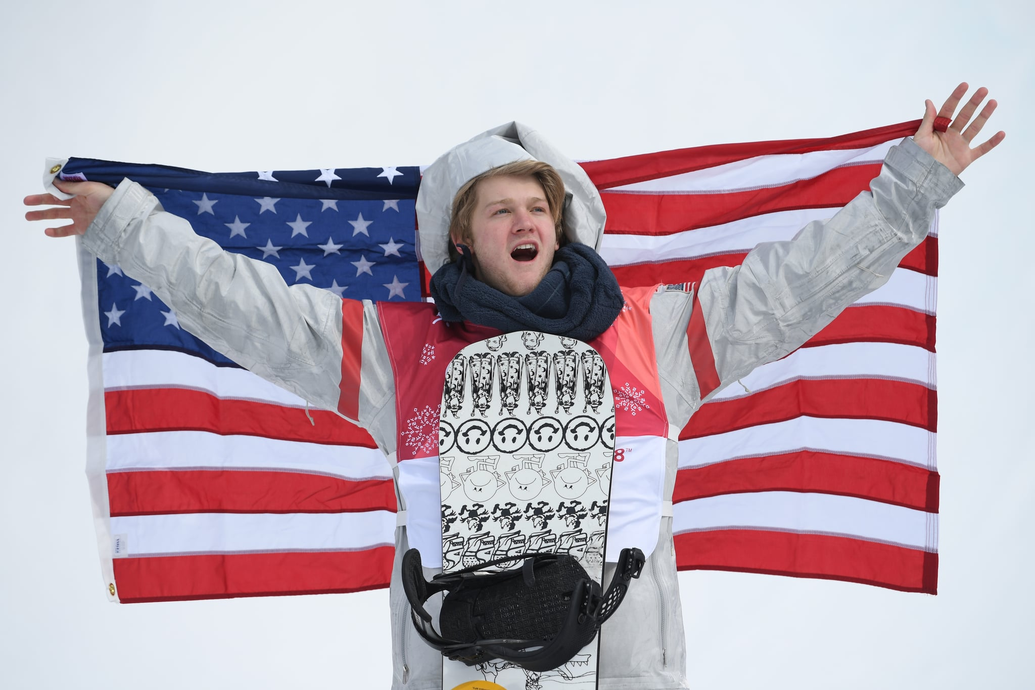 Toutant wins gold in the men's snowboard big air final