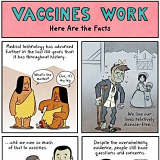 How Vaccines Work Infographic