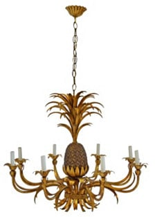 Vintage Erin Giglia Design Pineapple Chandelier ($1,495)