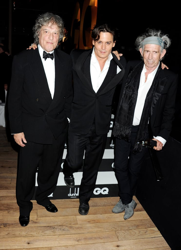 Johnny Depp Pictures at 2011 GQ Men of the Year Awards