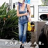 Gwen Stefani Leaving a Nail Salon in LA Pictures