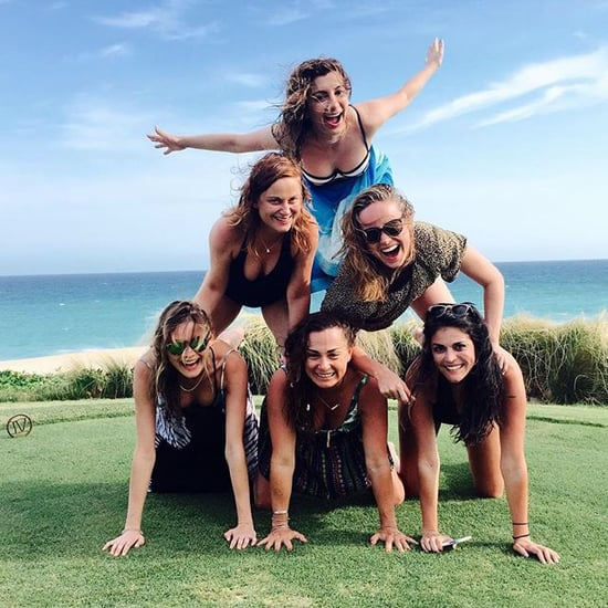 Amy Poehler, Behati Prinsloo, Cecily Strong Pyramid Picture
