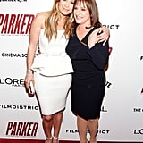 Jennifer Lopez hugged Patti LuPone on the red carpet.