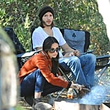 Ashton Kutcher and Demi Moore enjoyed the great outdoors.