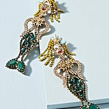 Sirena Mermaid Drop Earrings