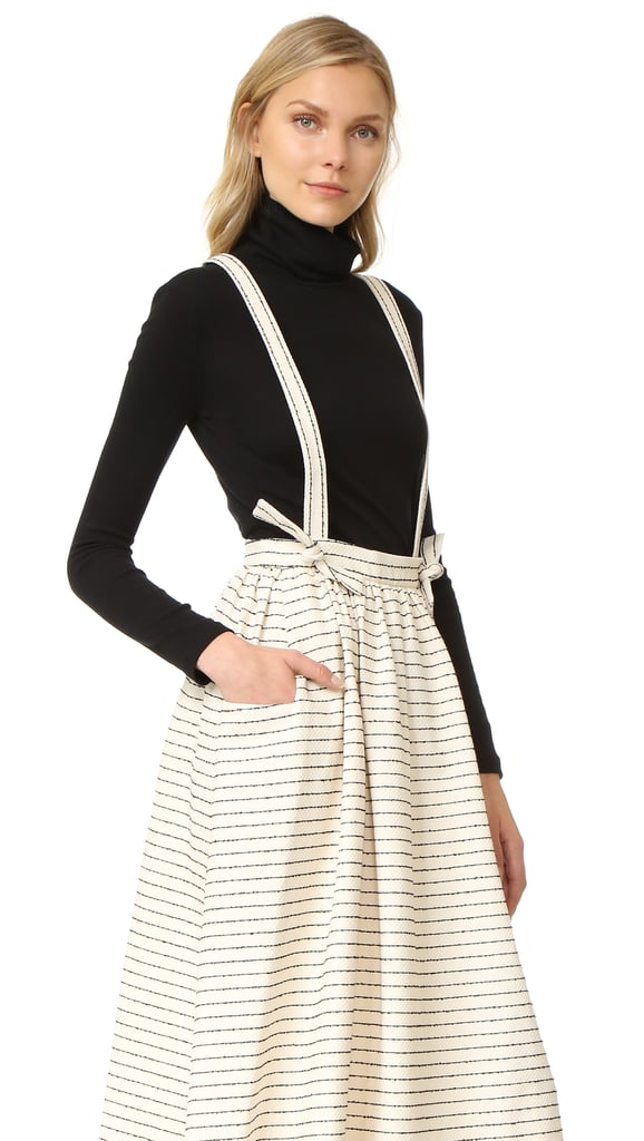 Mara Hoffman Full Skirt With Suspenders ($325)