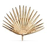 Threshold Cast Metal Gold Palm Leaf ($17, originally $20)