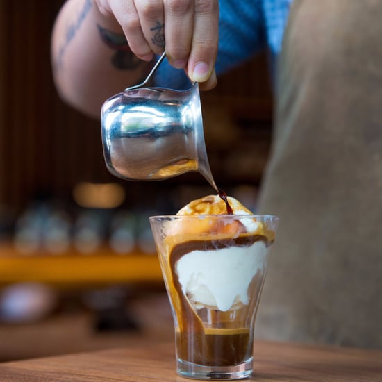 Starbucks Affogato Menu