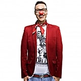 Gok Wan is showing off the laughing audience (£9.99) top.