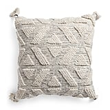 Made in India Neutral Loop Textured Pillow