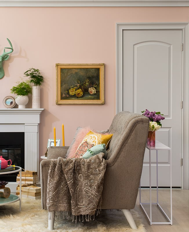 Pink Wall Paint Colors: POPSUGAR Home Photo 6