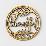 Metal Thankful Trivet