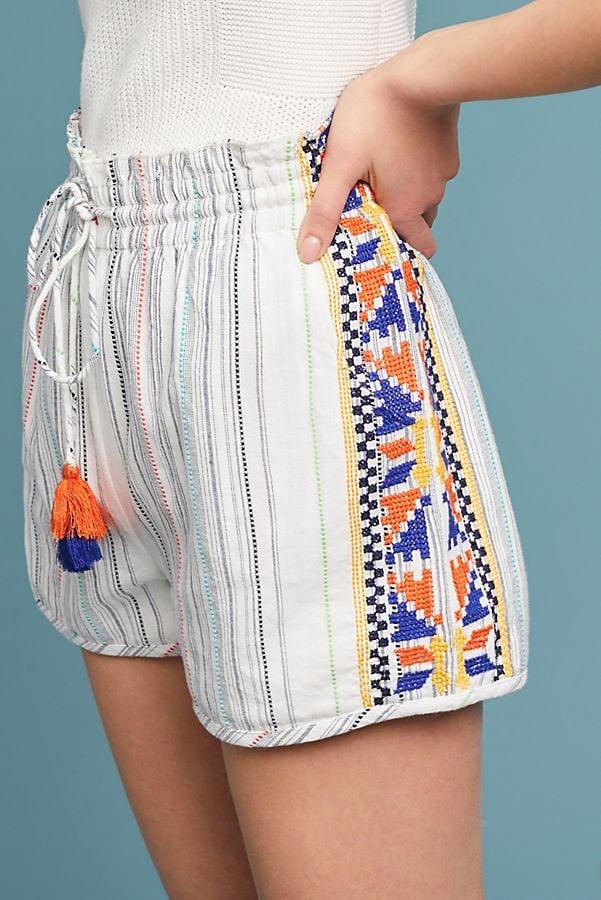 LAIA Caspian Striped Shorts