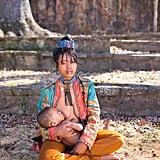 Lakisha Cohill's recent photo series puts a colorful spin on motherhood.