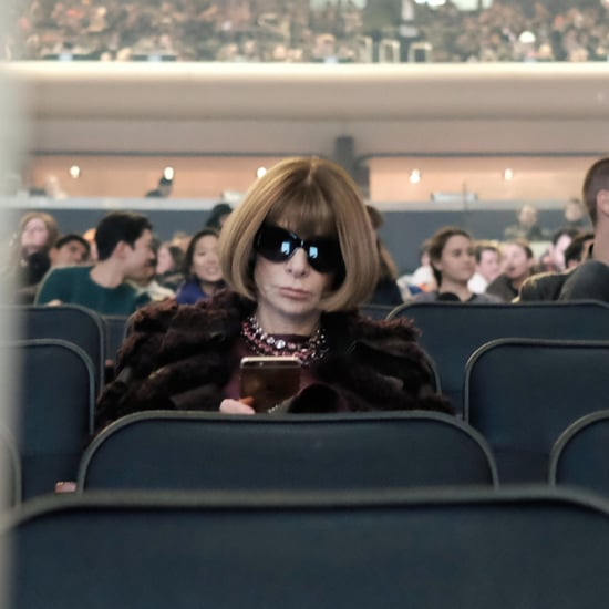 Anna Wintour Got Lost at Kanye's Fashion Show