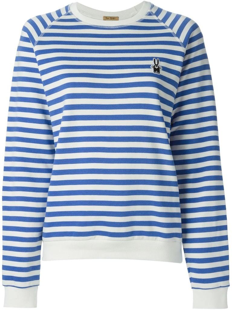 Peter Jensen Horizontal Stripe Sweatshirt ($157)