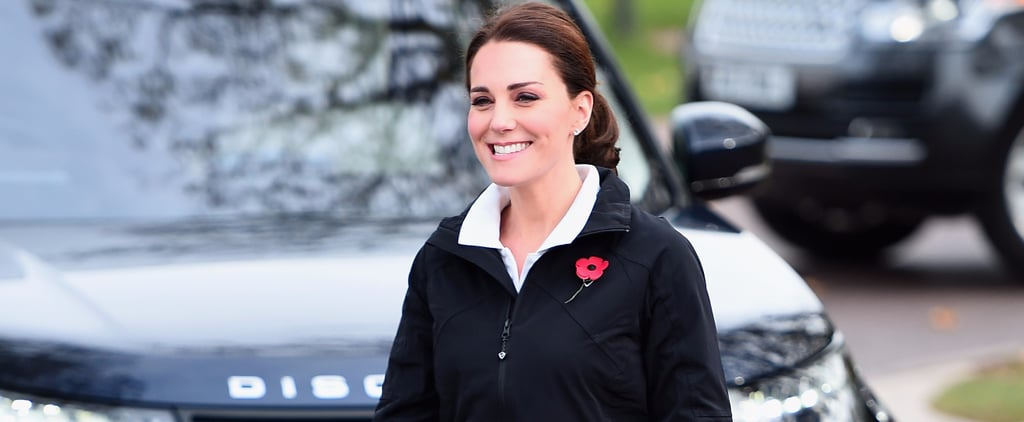 Kate Middleton's Wearing Track Pants — and Don't Even Get Us Started on Her Sneakers