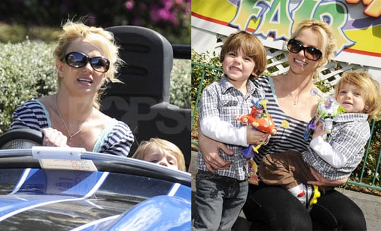 Photos of Britney Spears with Sons Jayden James and Sean Preston at