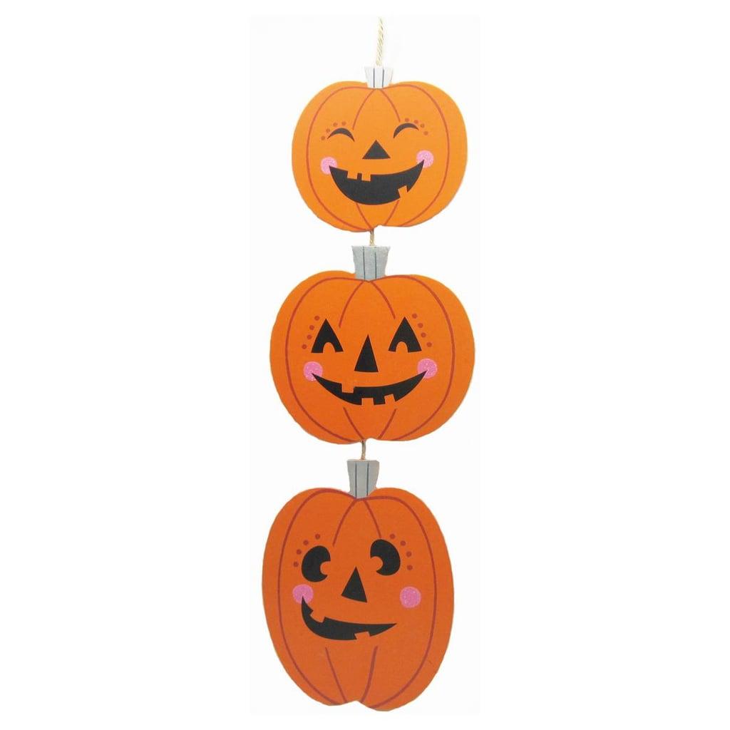 Pumpkin Wooden Sign
