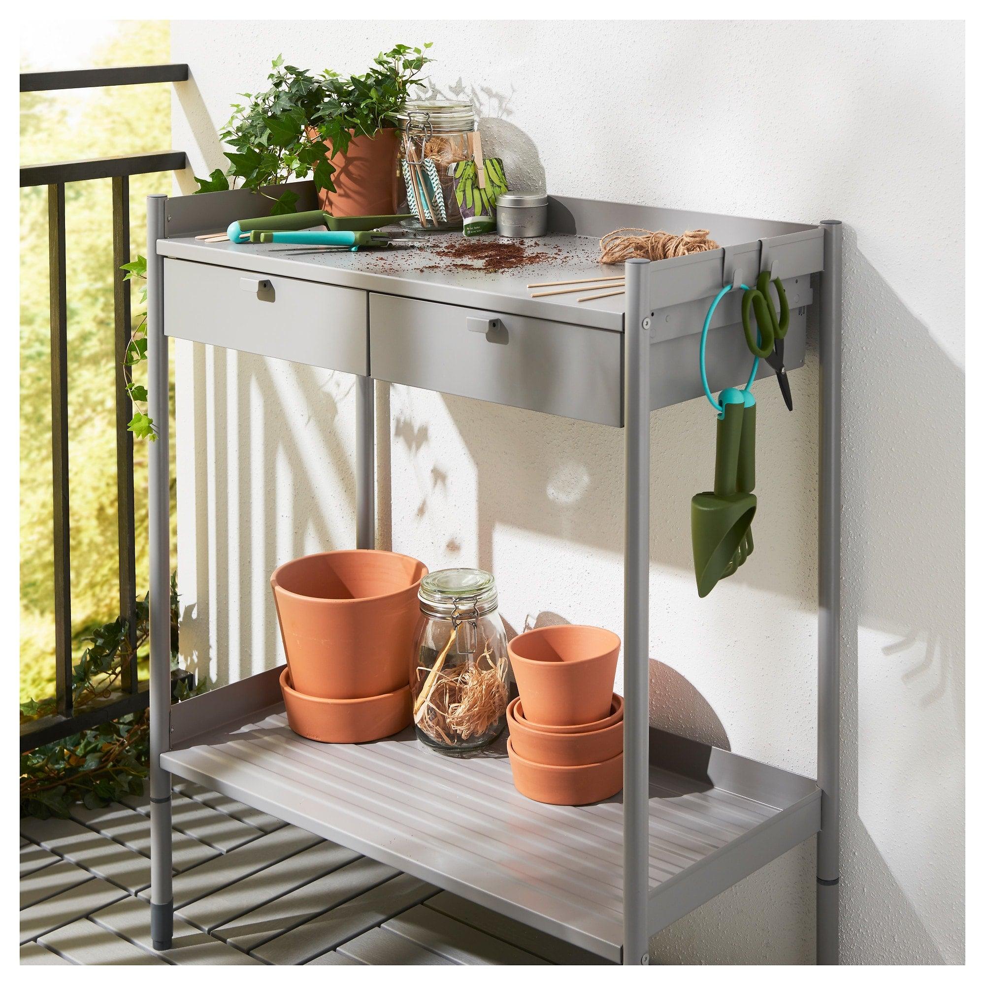 Hindö Potting Bench   53 Storage-Friendly Outdoor Furniture ...
