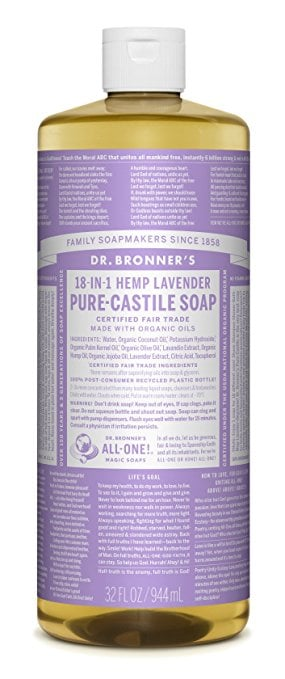 Dr. Bronner's Body Wash in Lavender