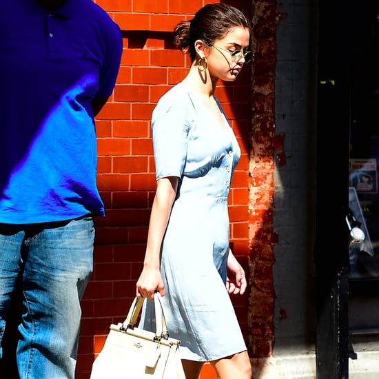 Selena Gomez Wearing Anklets