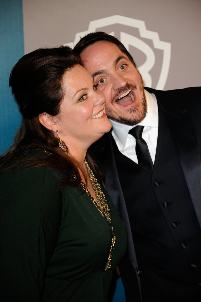 Melissa McCarthy got silly on the red carpet.