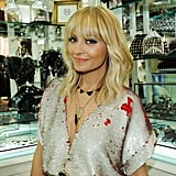 Nicole Richie in Halston at House of Harlow Shop Pictures