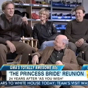 The Princess Bride Reunion on Good Morning America [Video]