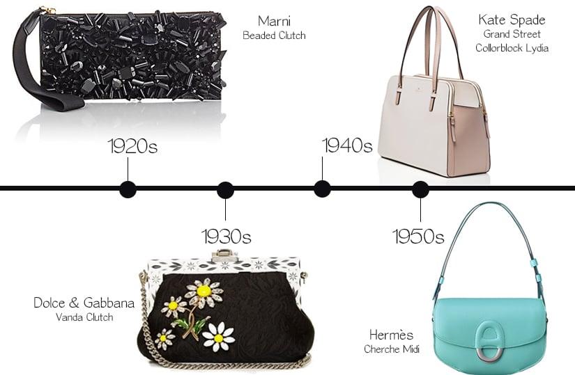 Modern Handbags Inspired by Decades