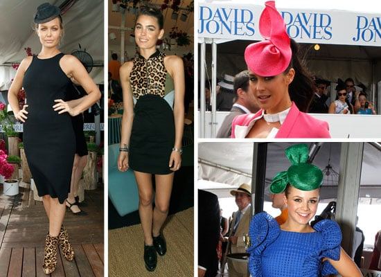 Pictures of Celebrities at the 2011 Caulfield Cup in Melbourne including Emma Freedman, Jessica Gomes and Bambi Northwood-Blyth