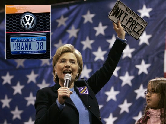 Political License Plates