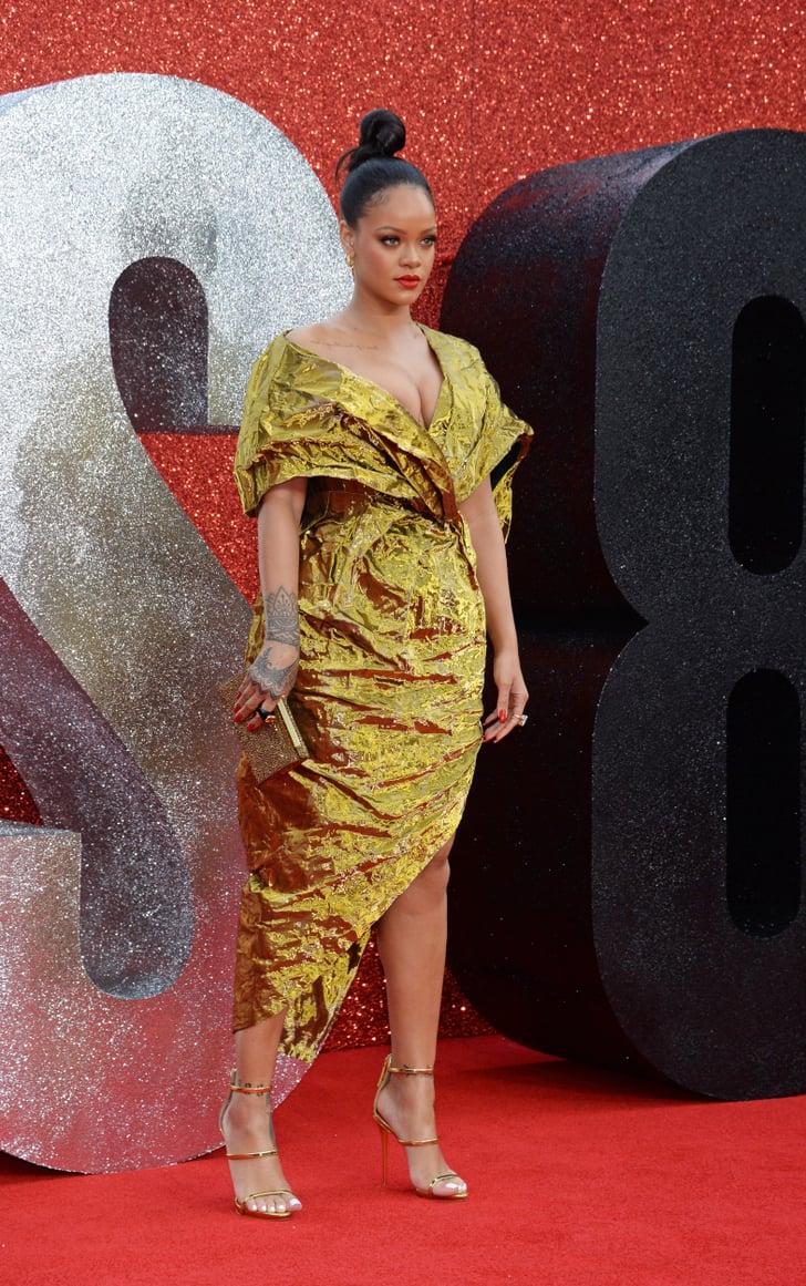 Rihanna At The Ocean S 8 Uk Premiere June 2018 Popsugar
