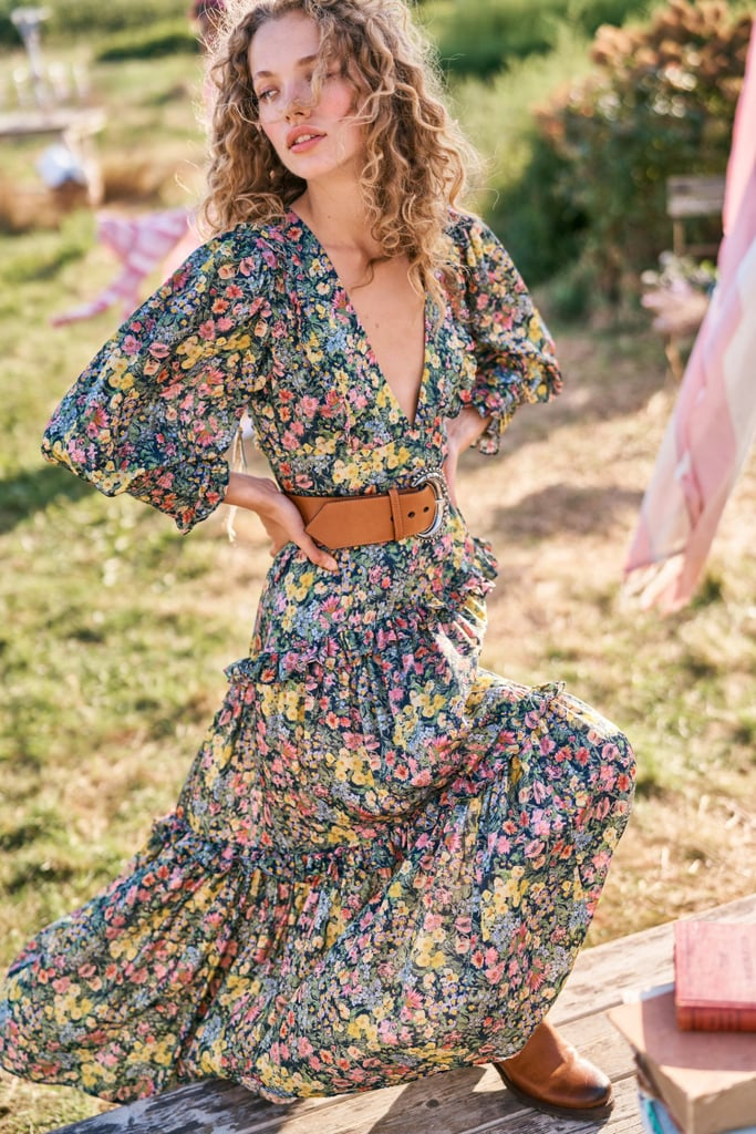 LoveShackFancy Lorencia Maxi Dress