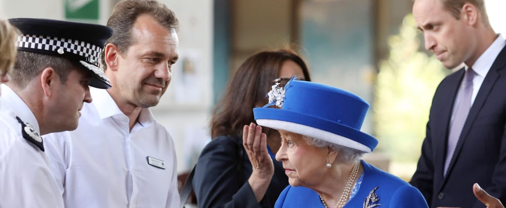 Prince William and Queen Elizabeth II Have Emotional Visit With Grenfell Tower Victims