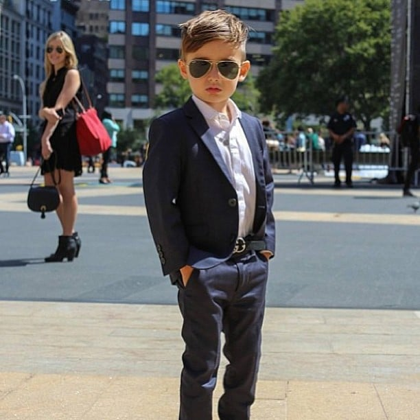 Alonso Mateo Instagram Style: Celebrity Kids At Fashion Week