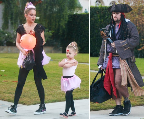 Nicole Richie and Joel Madden on Halloween in LA | Pictures