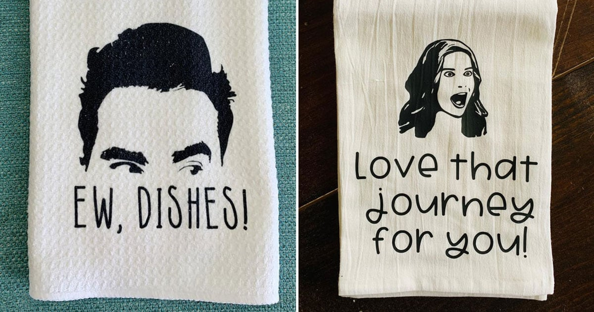 20 Schitt's Creek Kitchen Towels to Display While You Figure Out How to Fold in the Cheese
