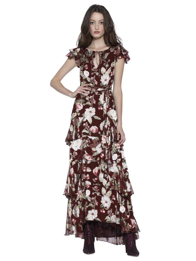 38b1ab3d5700 Alice + Olivia Jenny Flutter-Sleeve Maxi Dress | Best Maxi Dresses ...