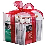 Christmas teas and sugar sticks