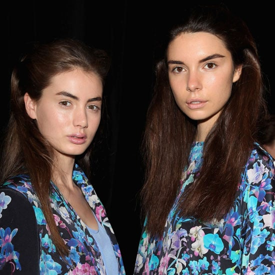 Sara Phillips Spring Summer 2012 Backstage Beauty Report
