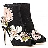 Dolce & Gabbana Embellished Ankle Boots ($1,495)