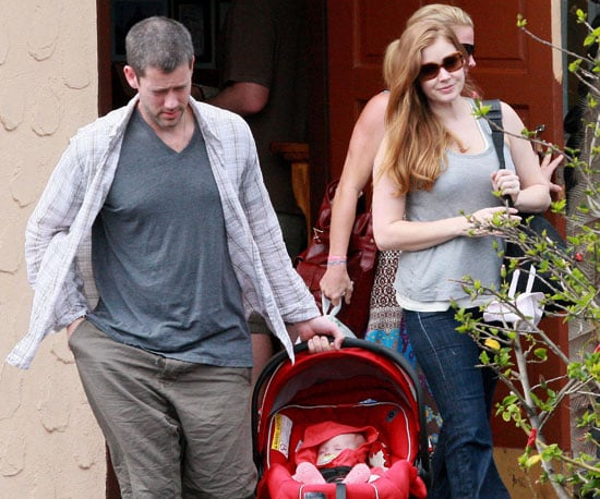 Slide Picture of Amy Adams and Darren Le Gallo With Aviana in LA
