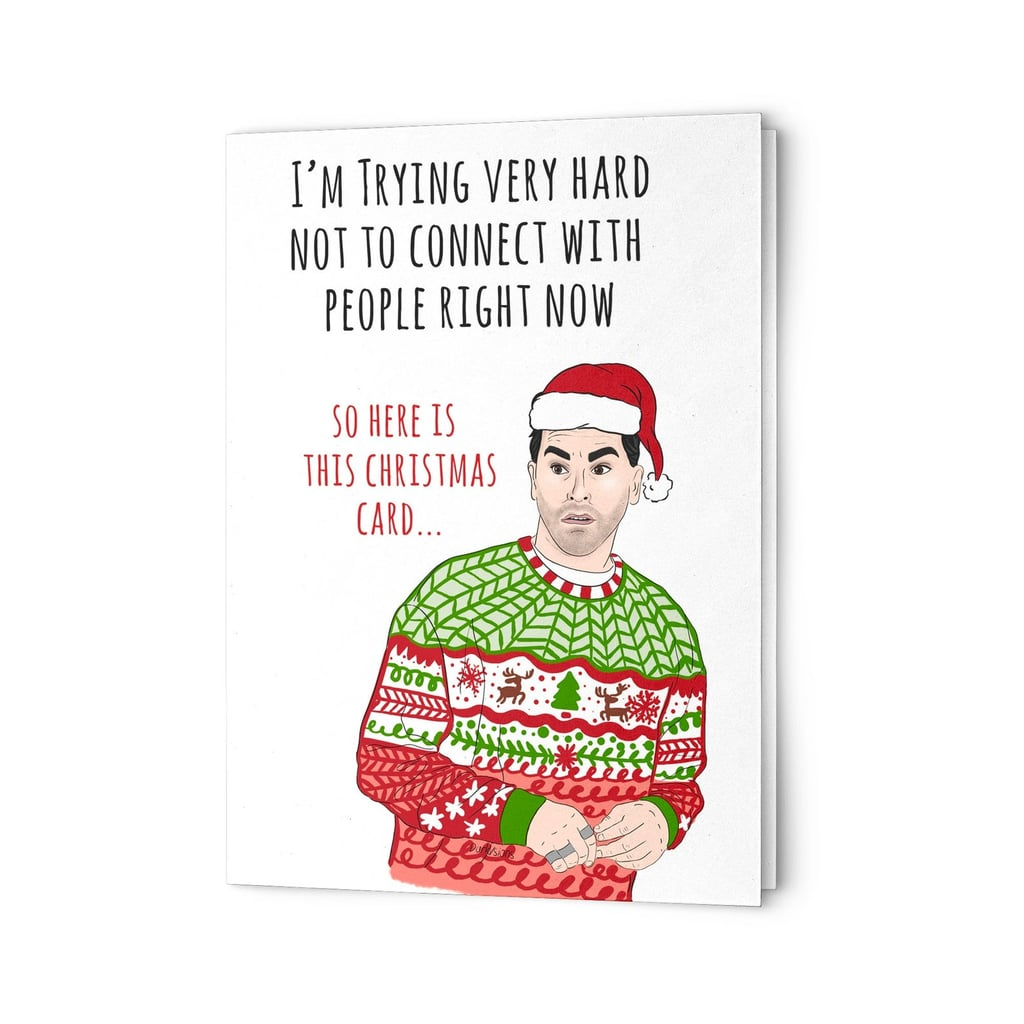 These Schitt's Creek Holiday Cards Are So Good