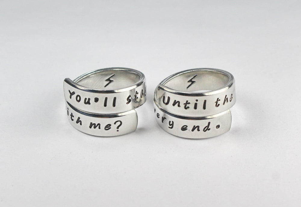 products collections personalized matching lover steel rings couple theme heart love price match pair for real a titanium romantic