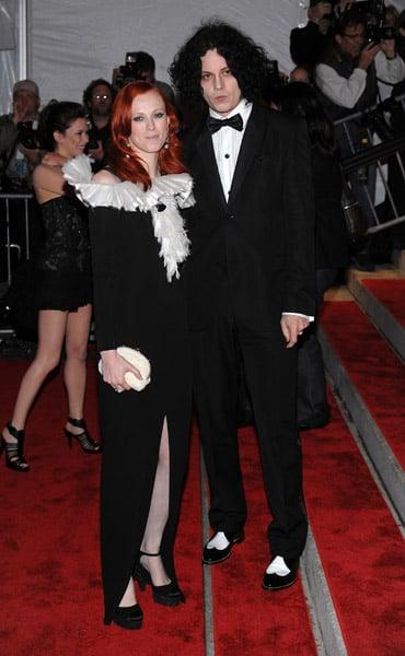 Karen Elson and Jack White