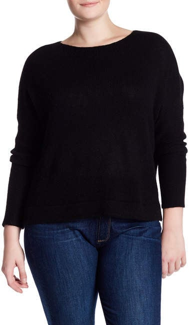 Naked Cashmere Katya Boatneck Cropped Cashmere Sweater ($104, originally $345)