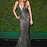 Sofia Vergara stole the show in her cleavage-baring dress.